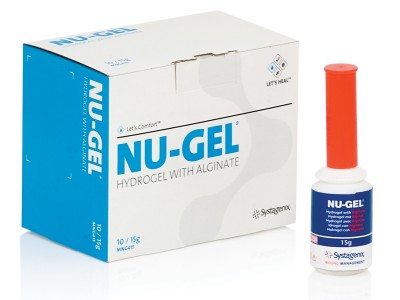 Nu-Gel (Johnson & Johnson, Systagenix) (klik op foto voor vergroting)